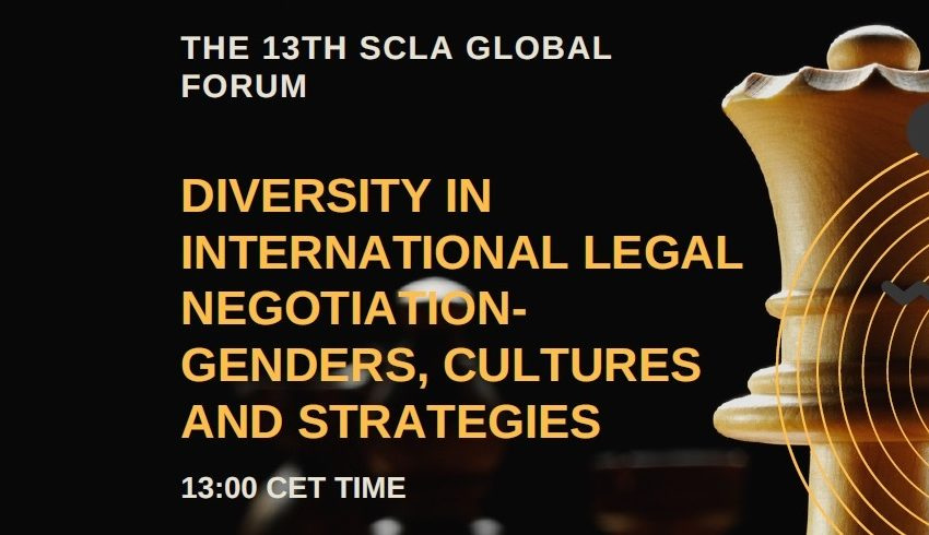 LATEST – SCLA 13th Global Forum Agenda on Negotiations Announced for 29 January: Don't miss out